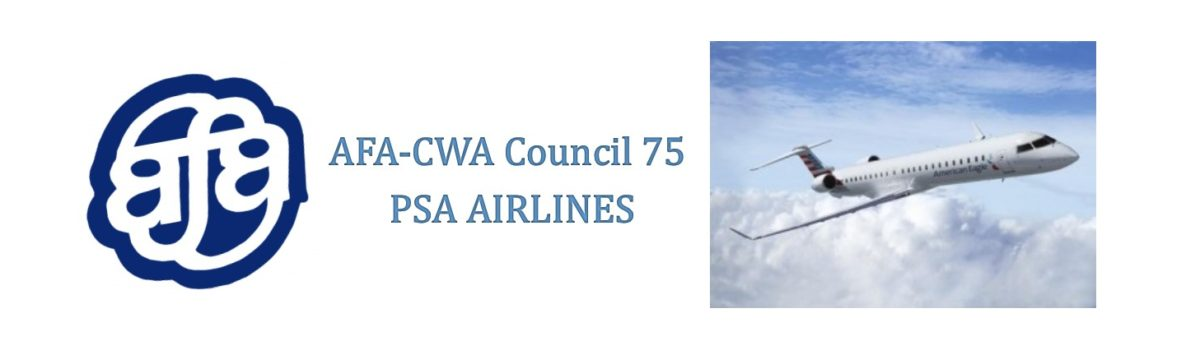 AFA-CWA Council 75 at PSA Airlines