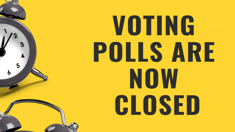 Voting Polls are now closed
